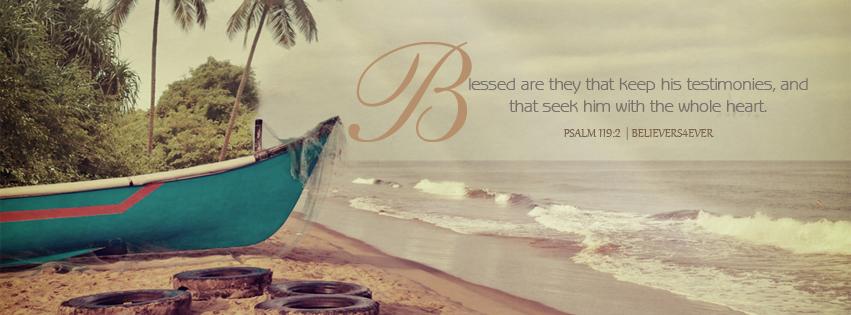Psalm 119:2, blessed are they facebook timeline cover, christian facebook timeline cover, nice scripture timeline cover