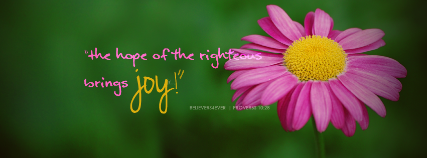 The hope of the righteous, proverbs 10:2, free Christian Facebook timeline cover, Free Facebook covers, Christian facebook cover ,Christian Facebook timeline covers scripture timeline banner, Christian graphics