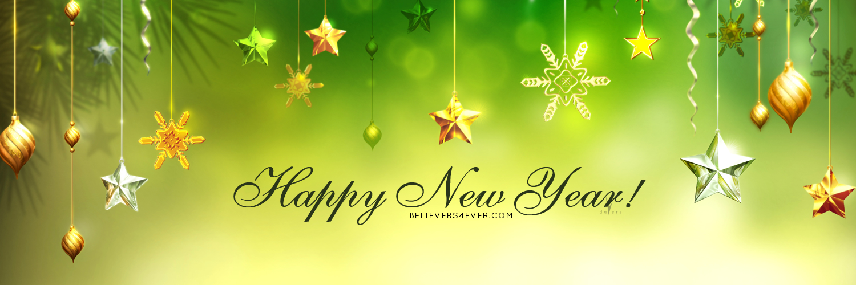 Happy new year Twitter header