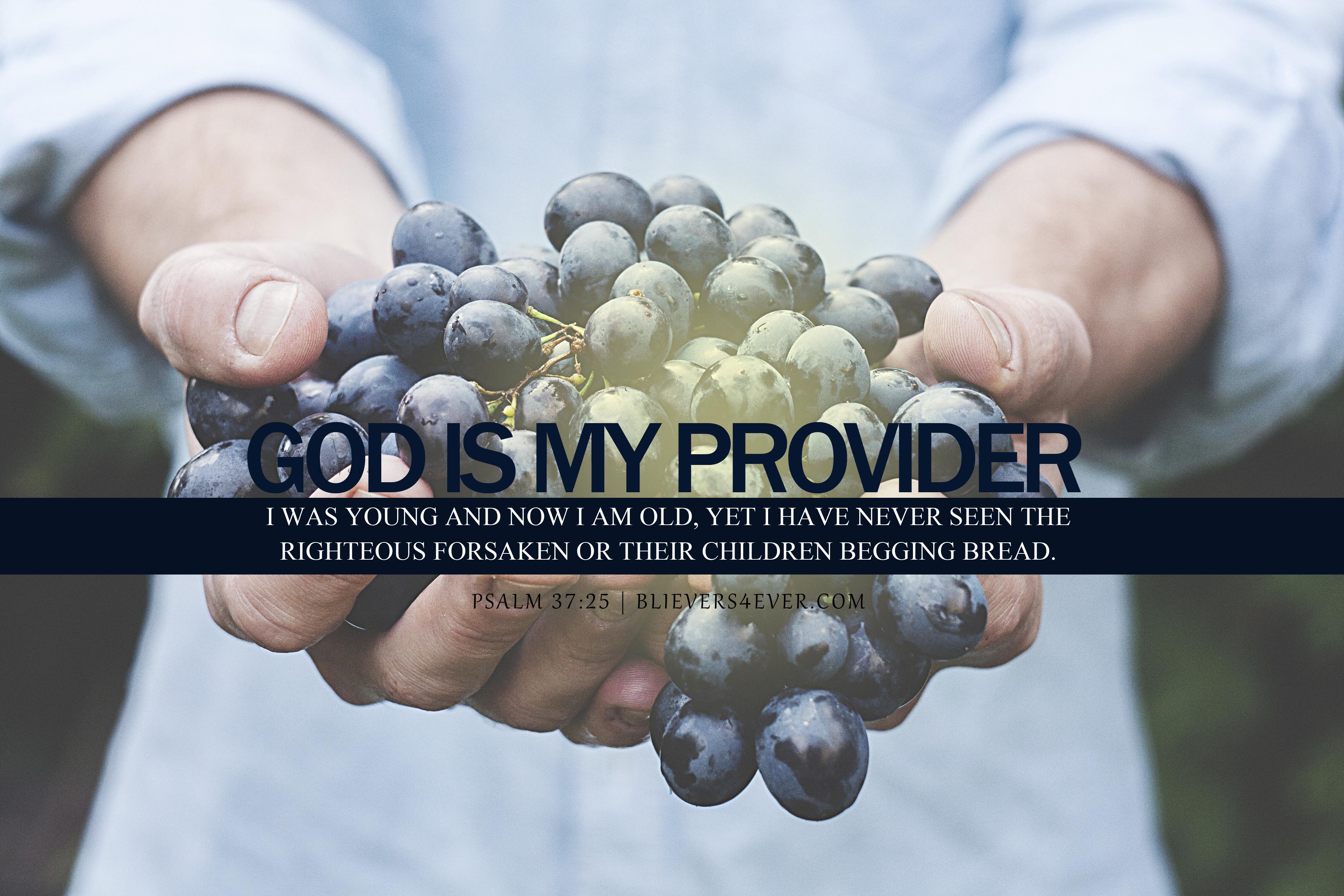 God is my provider desktop wallpaper for church background