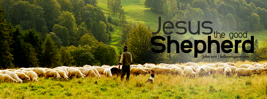 Jesus the good shepherd facebook timeline cover, Jesus Facebook graphics, Free Christian pictures for church, pictures for church