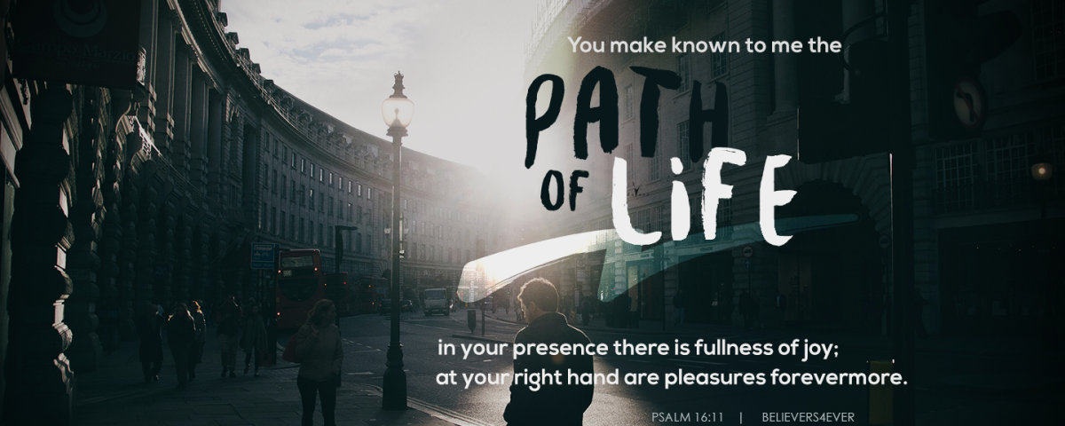 The path of life christian wallpaper