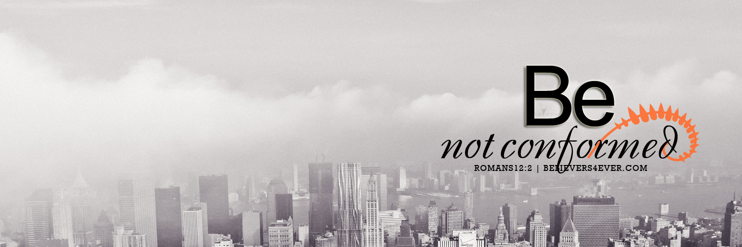 Be not conformed twitter header