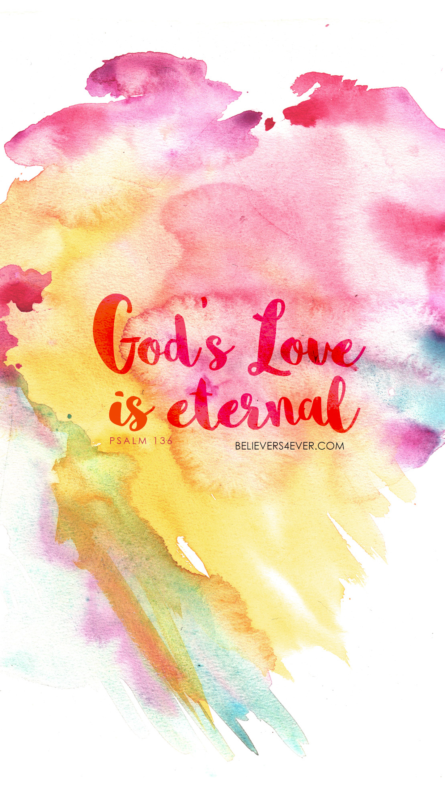 God's love is eternal Free Christian wallpaper HD and HQ