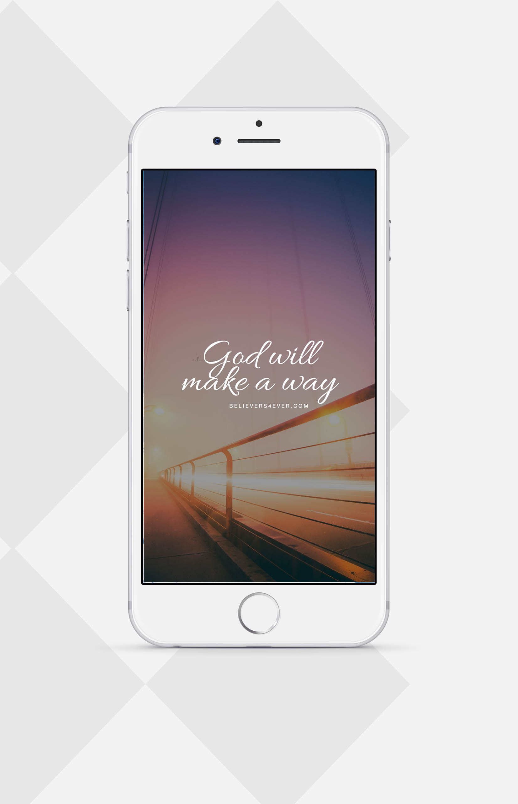 God will make a way mobile wallpaper