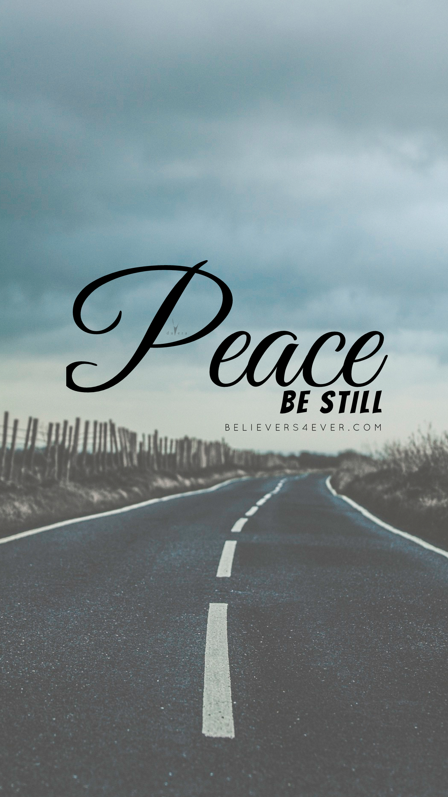 Peace be still Free Christian lock screen wallpaper background