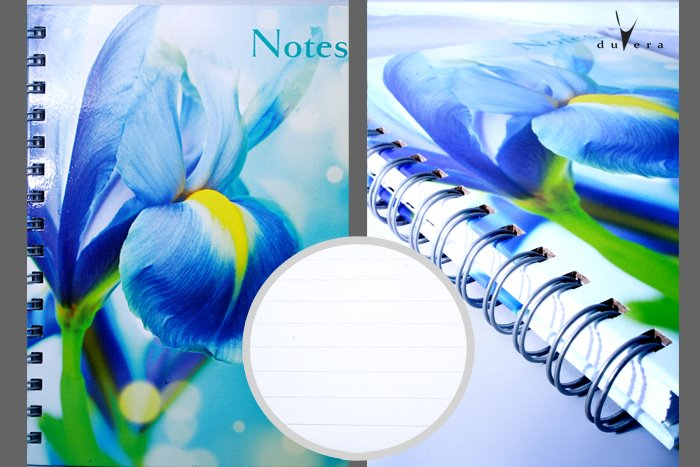 A5 notebook from duvera boutique