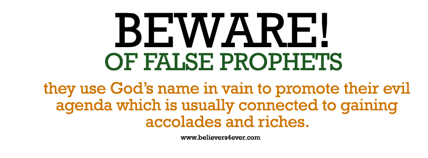 False preachers, false leaders, how to tell a false leader, signs of a false prophet