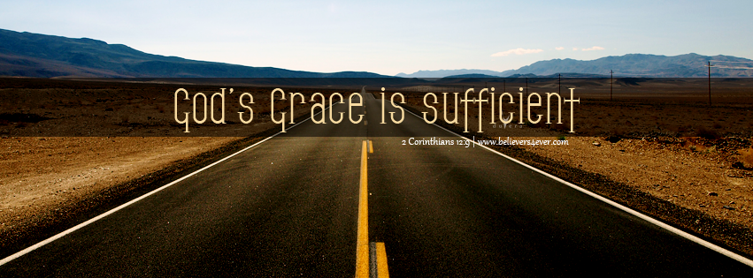 2 Corinthians 12:9, God's grace Facebook timeline cover, Christian Facebook timeline covers, God's grace Christian graphics, Free Christian Facebook timeline cover, Free Facebook covers, Christian facebook cover
