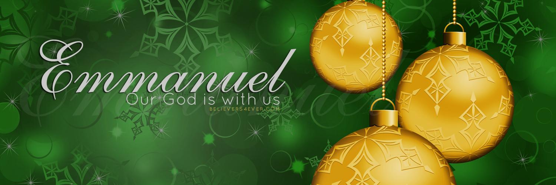 Emmnuel Christian Christmas Twitter header