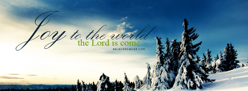 Joy to the world Facebook timeline cover