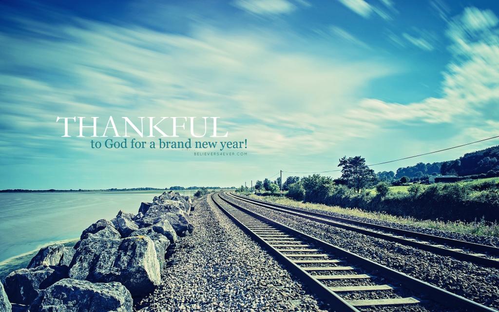 Christian Wallpaper For Windows 10: Thankful New Year 2015 Christian Wallpaper