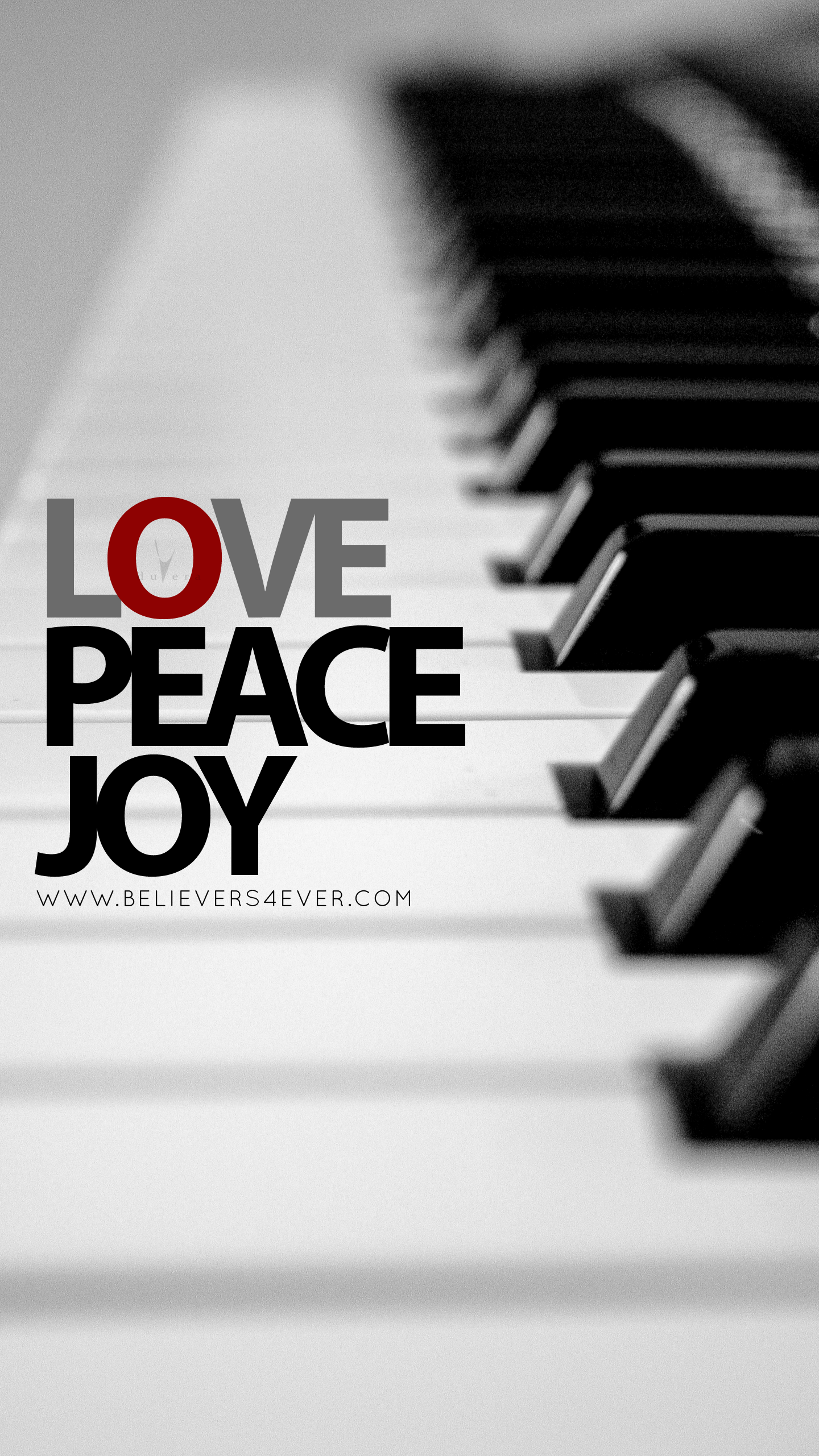 Love Peace Joy Christian Mobile Lock Screen Wallpaper