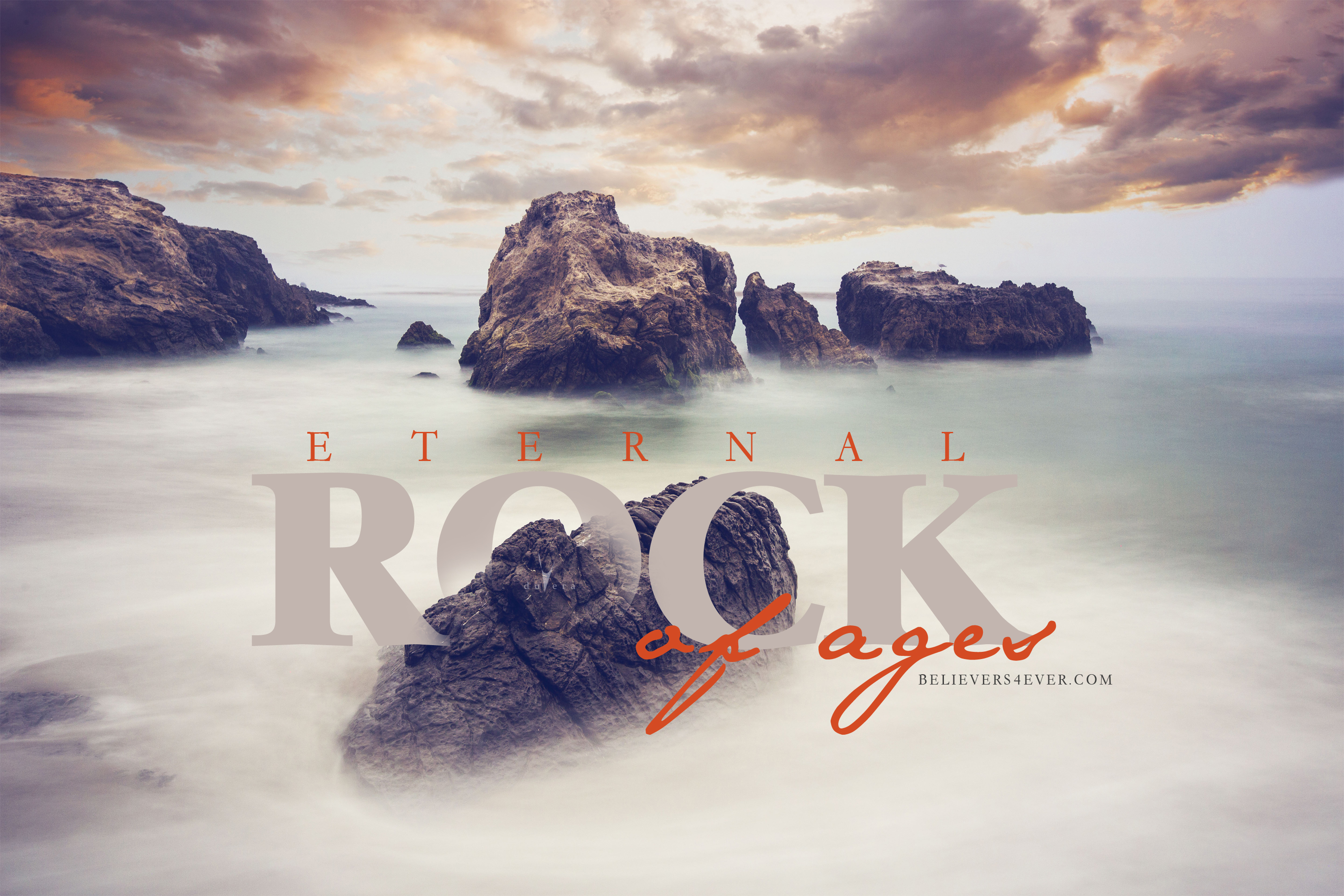 Eternal rock of ages