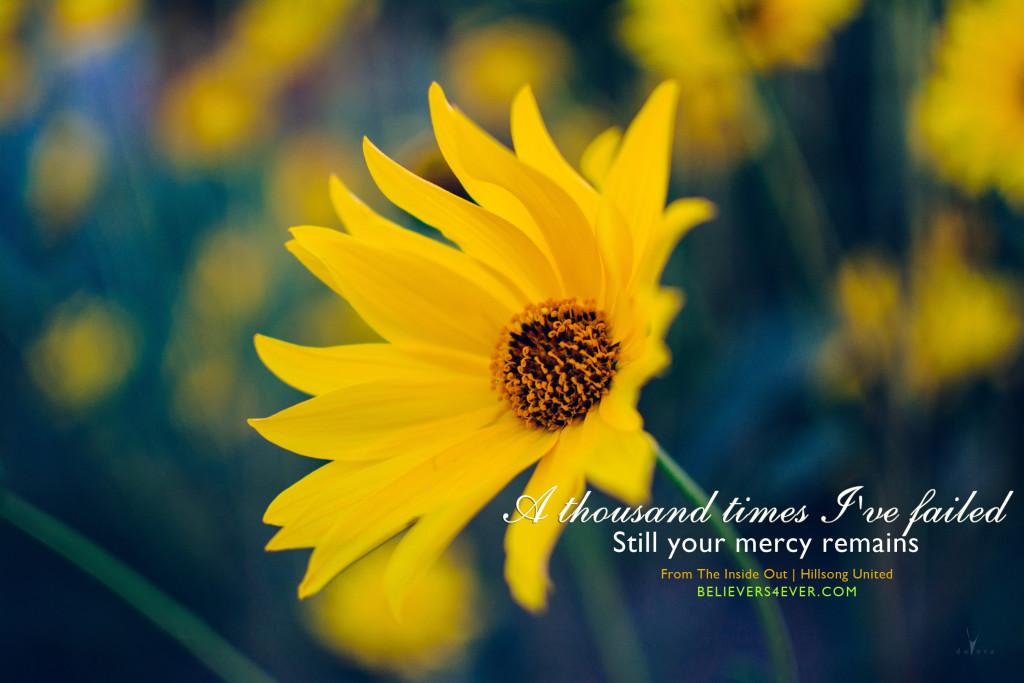 Lyric mercy mercy hillsong lyrics : A thousand times - Believers4ever.com
