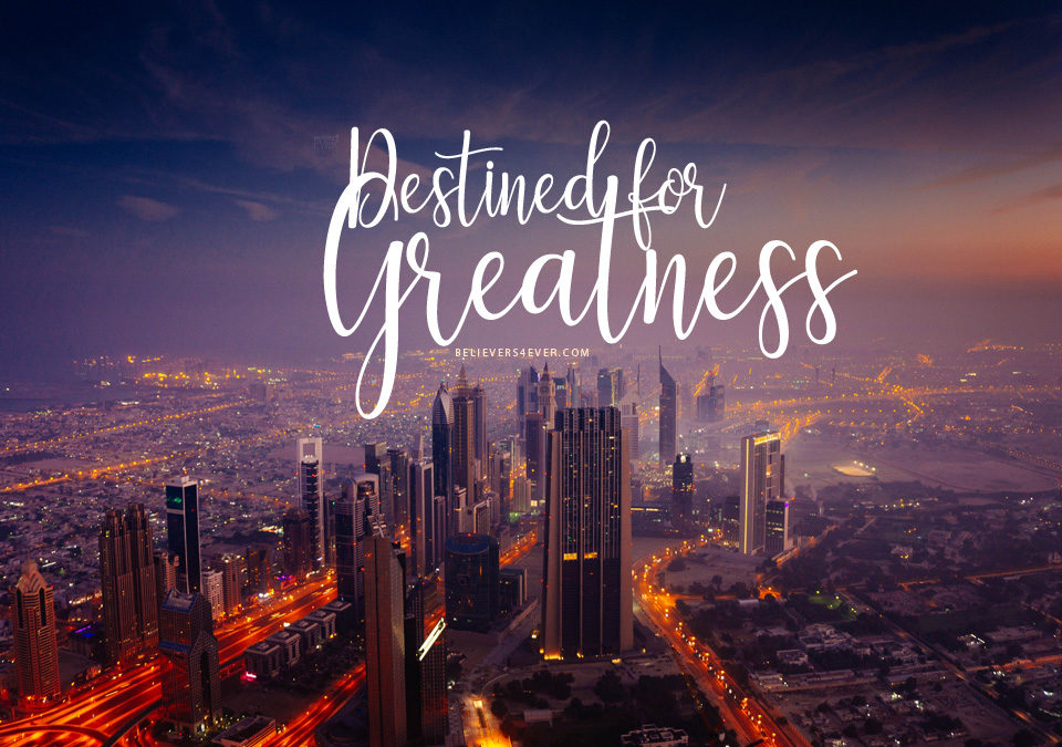 Destined for greatness wallpaper
