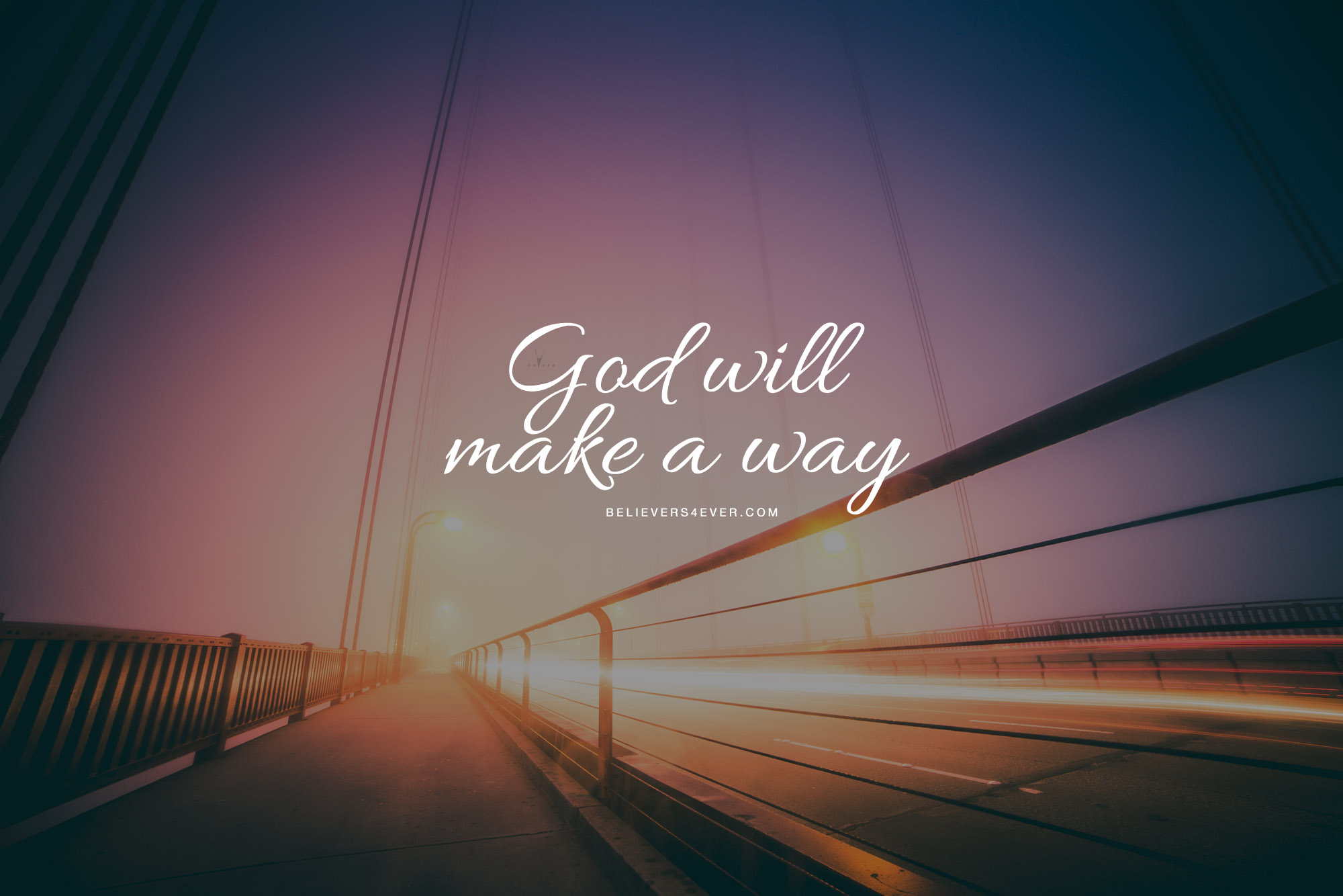 God will make a way desktop wallpaper