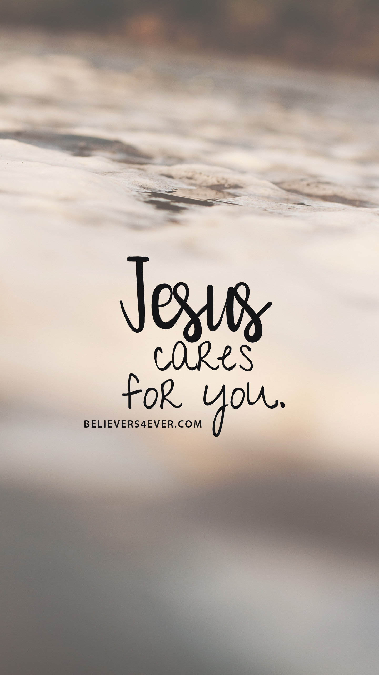 Jesus cares for you