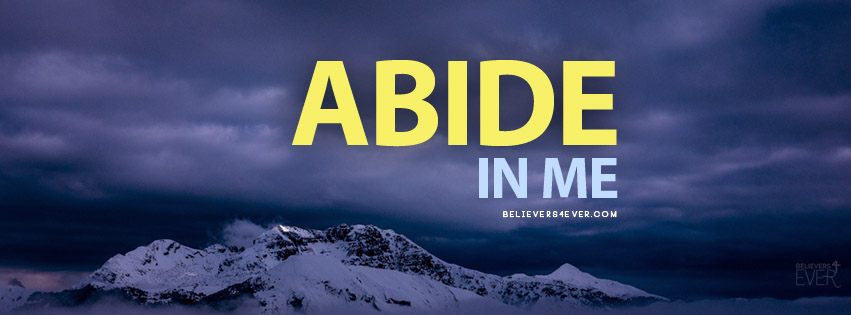 Abide in me Facebook cover