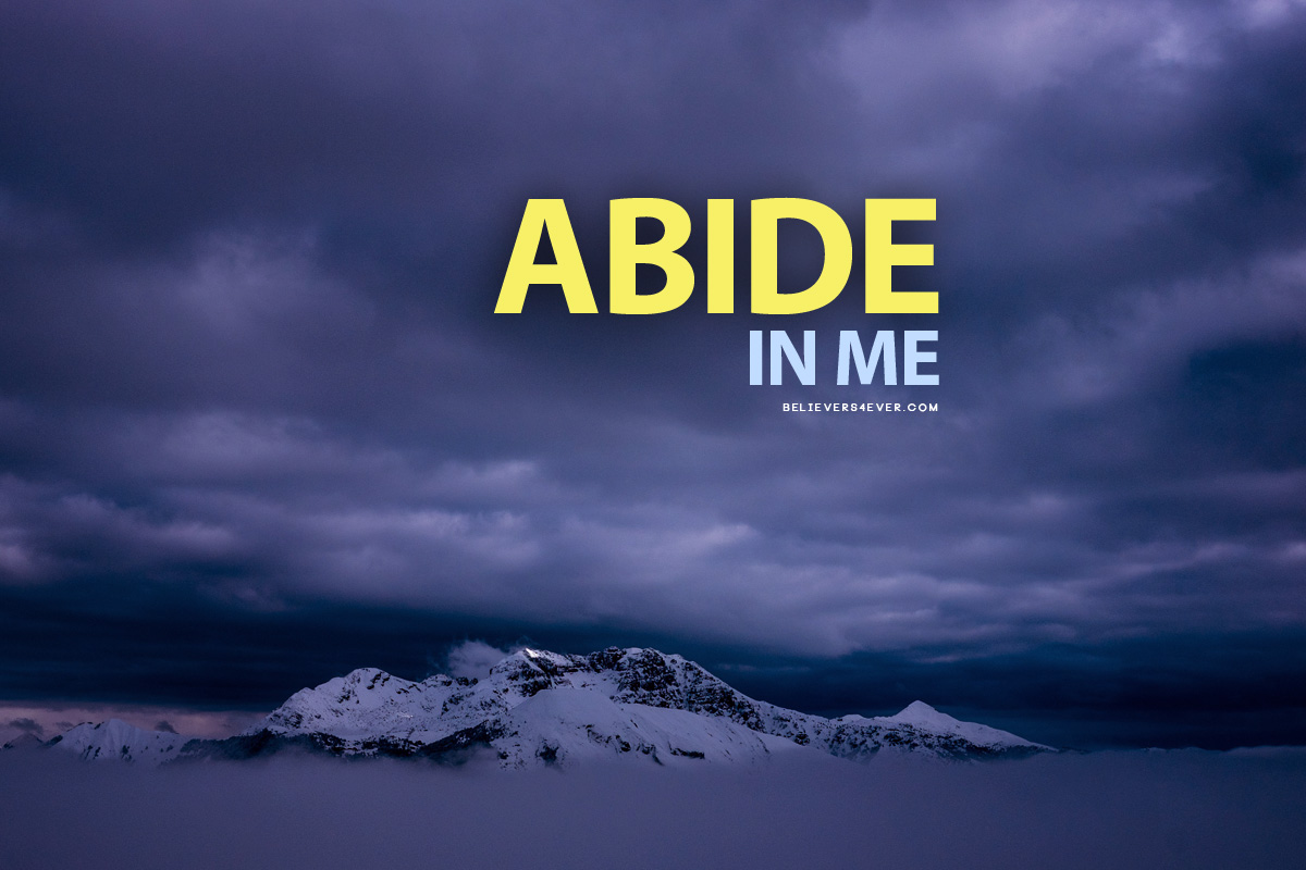Abide in me wallpaper