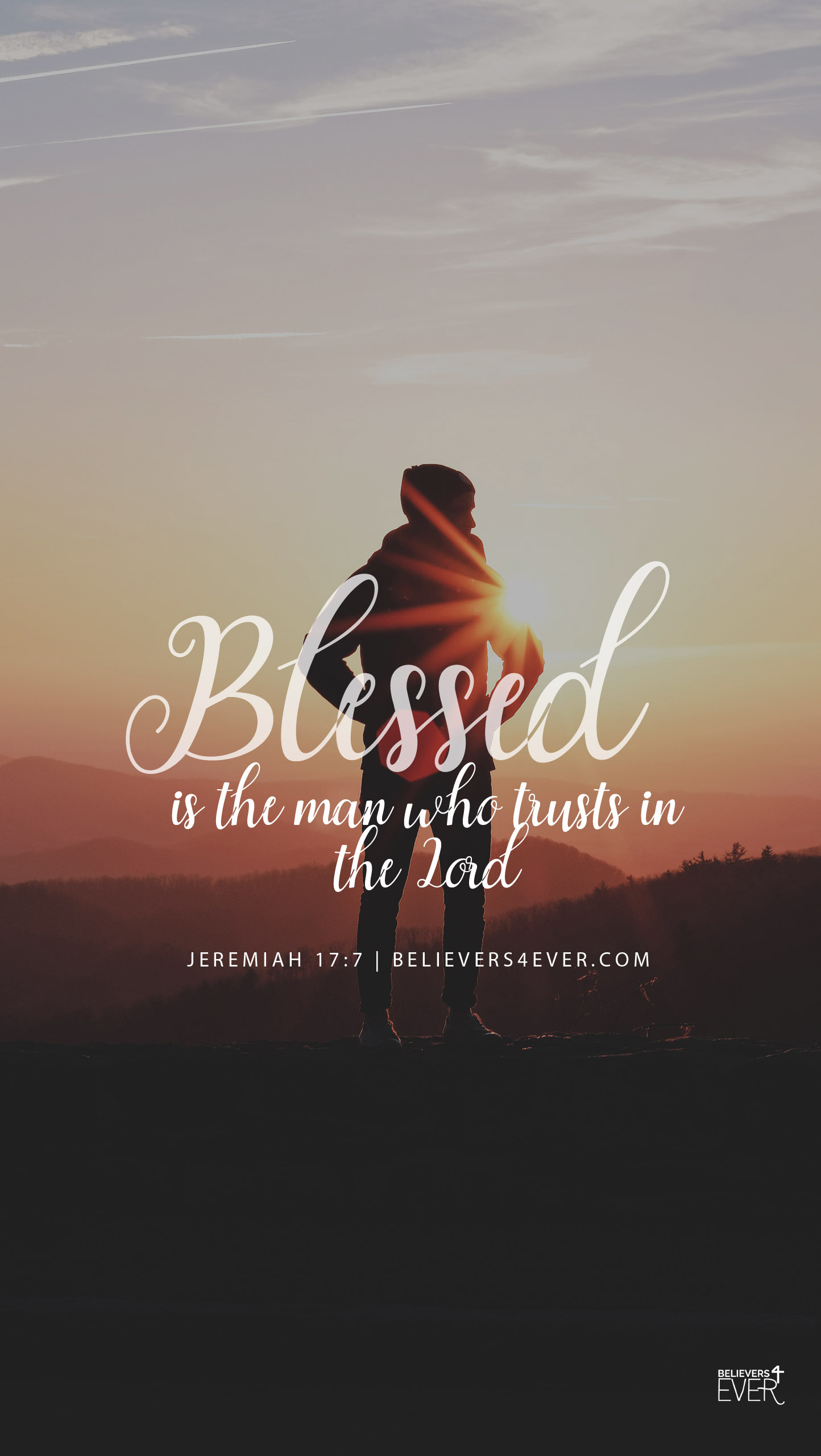 Blessed is the man Jeremiah 17:7
