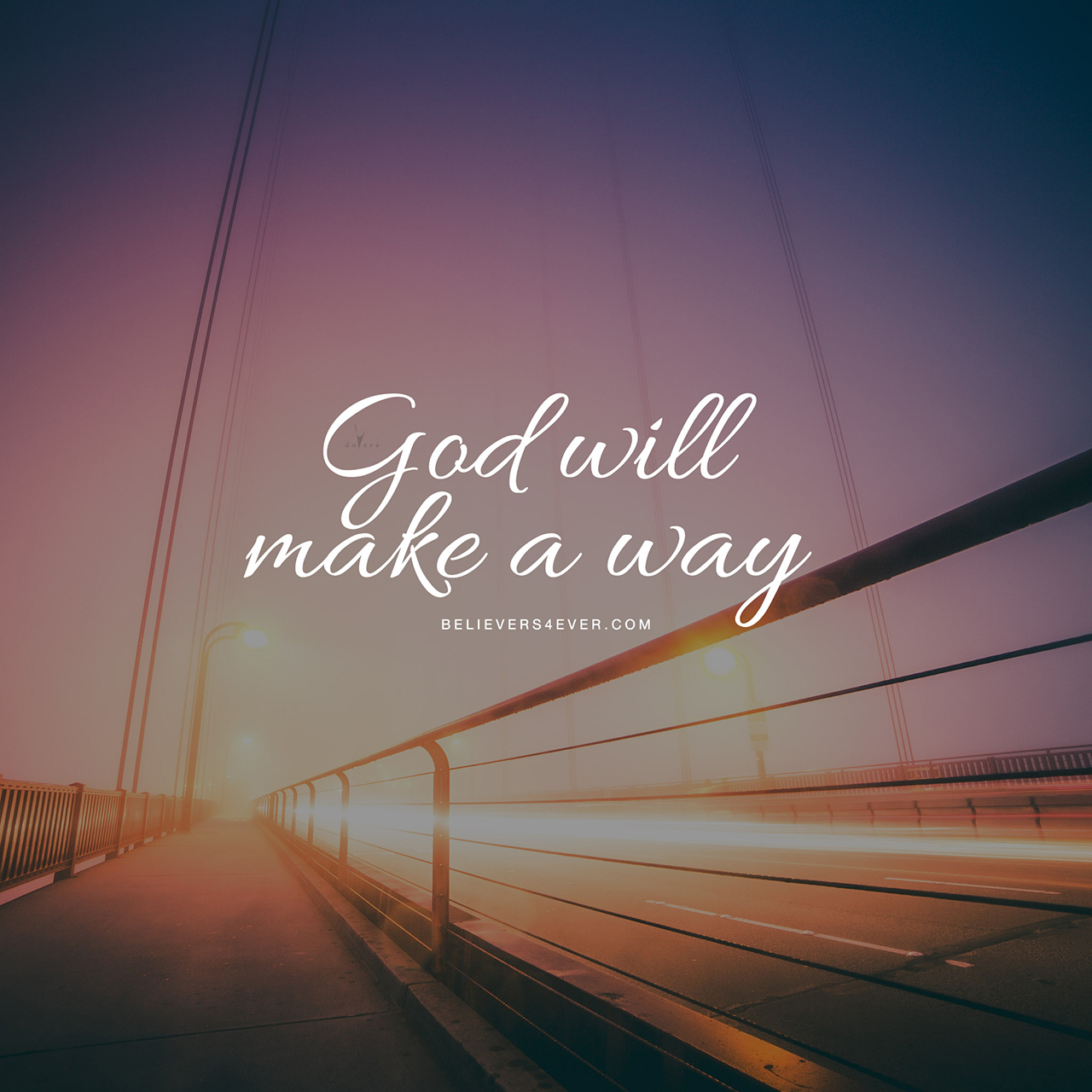 God will make a way ipad wallpaper