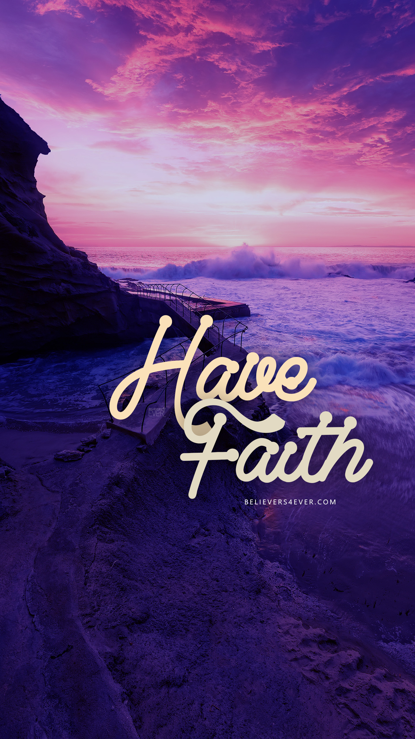 Have Faith free wallpaper background for mobile phone