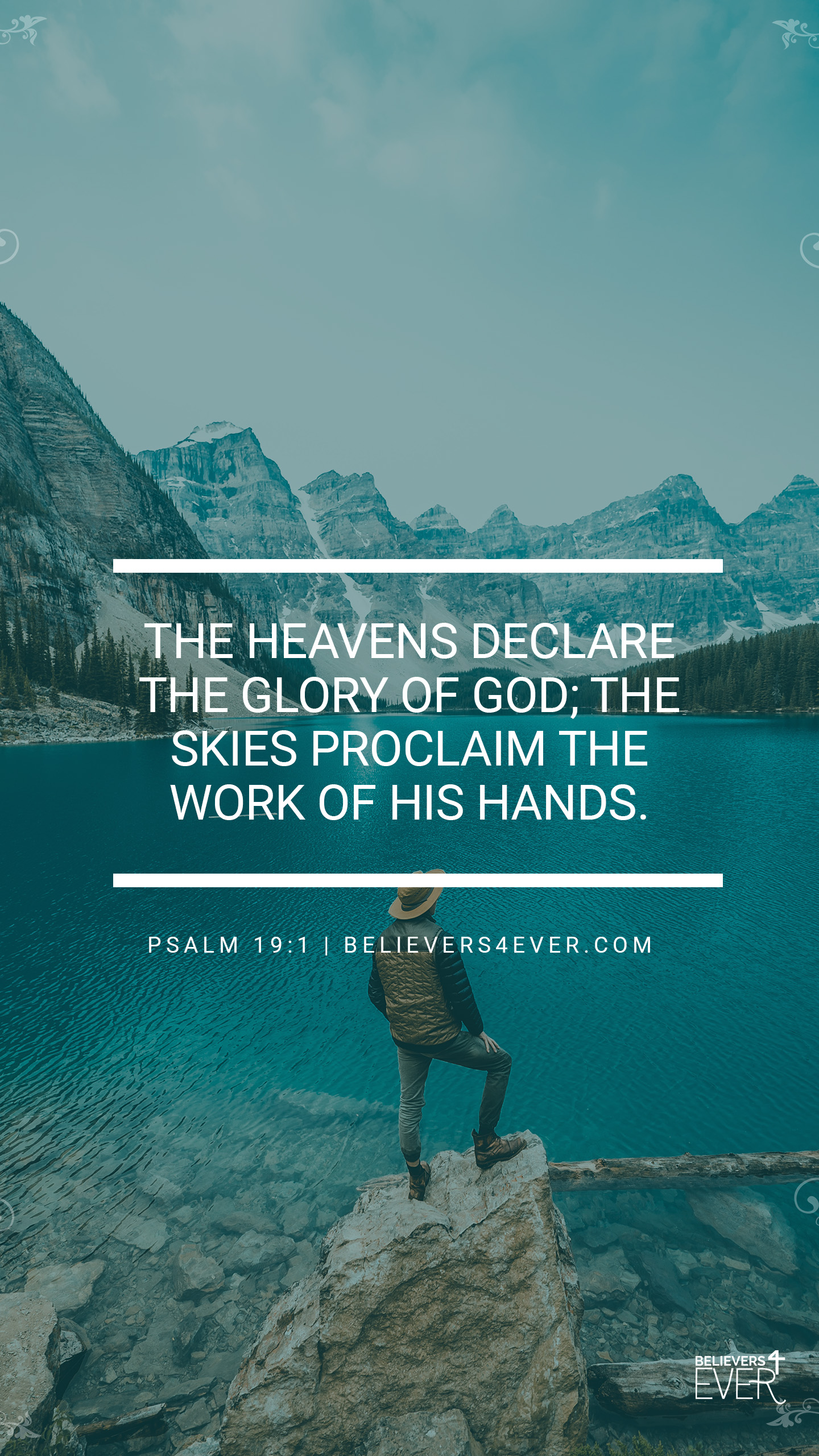 The heavens declare Psalm 19:1