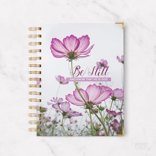Be still A5 Christian notebook