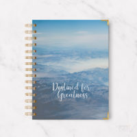 Destined for greatness notebook journal