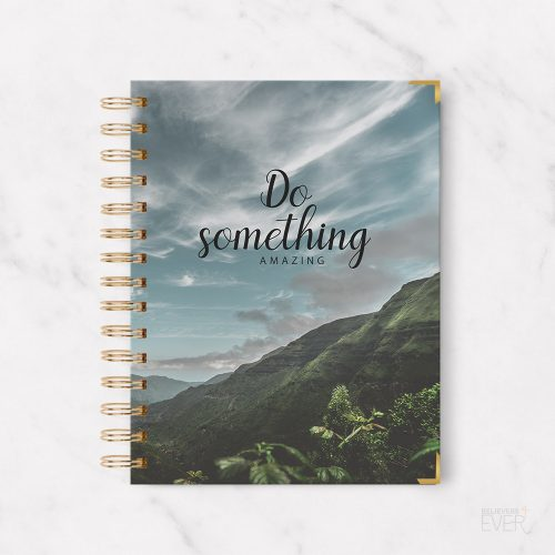 Do something amazing notebook journal