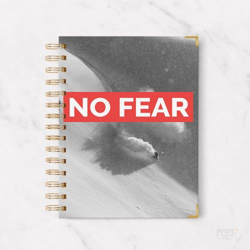 No fear notebook journal