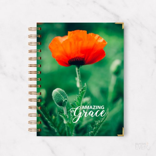 Amazing grace notebook journal