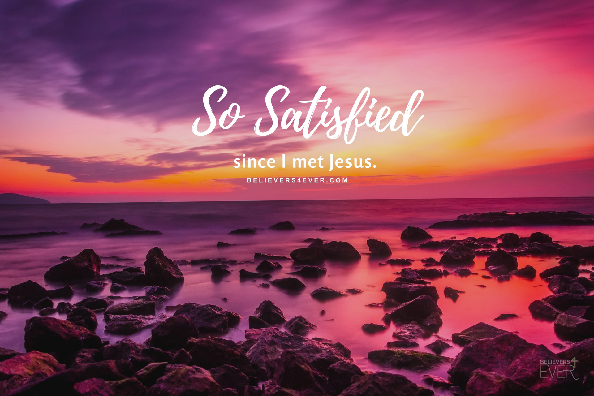 so satisfied christian wallpaper