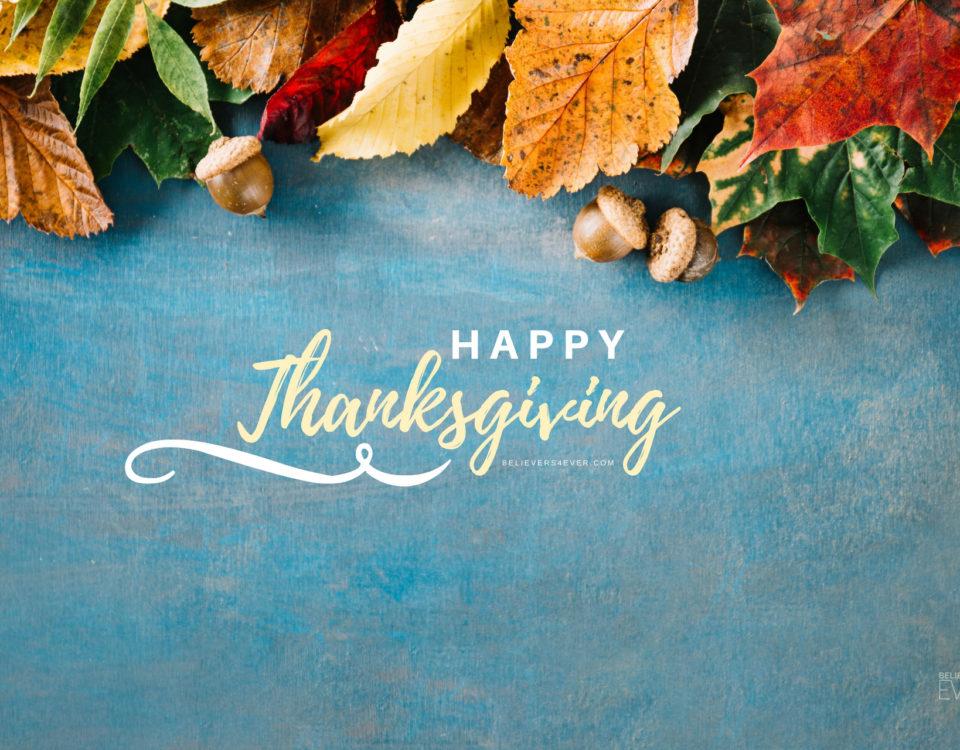 Happy thanksgiving ecard