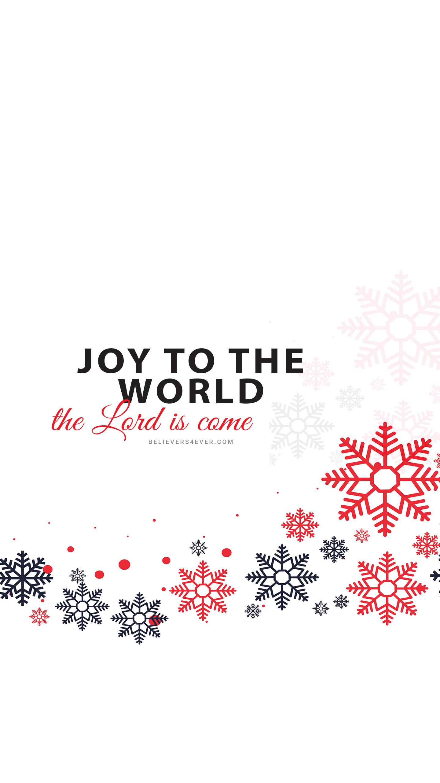 Joy to the world Christmas mobile