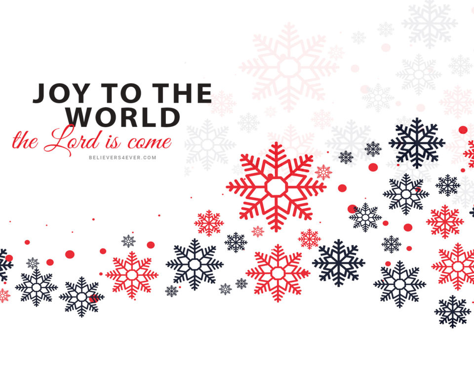 Joy to the world Christmas wallpaper
