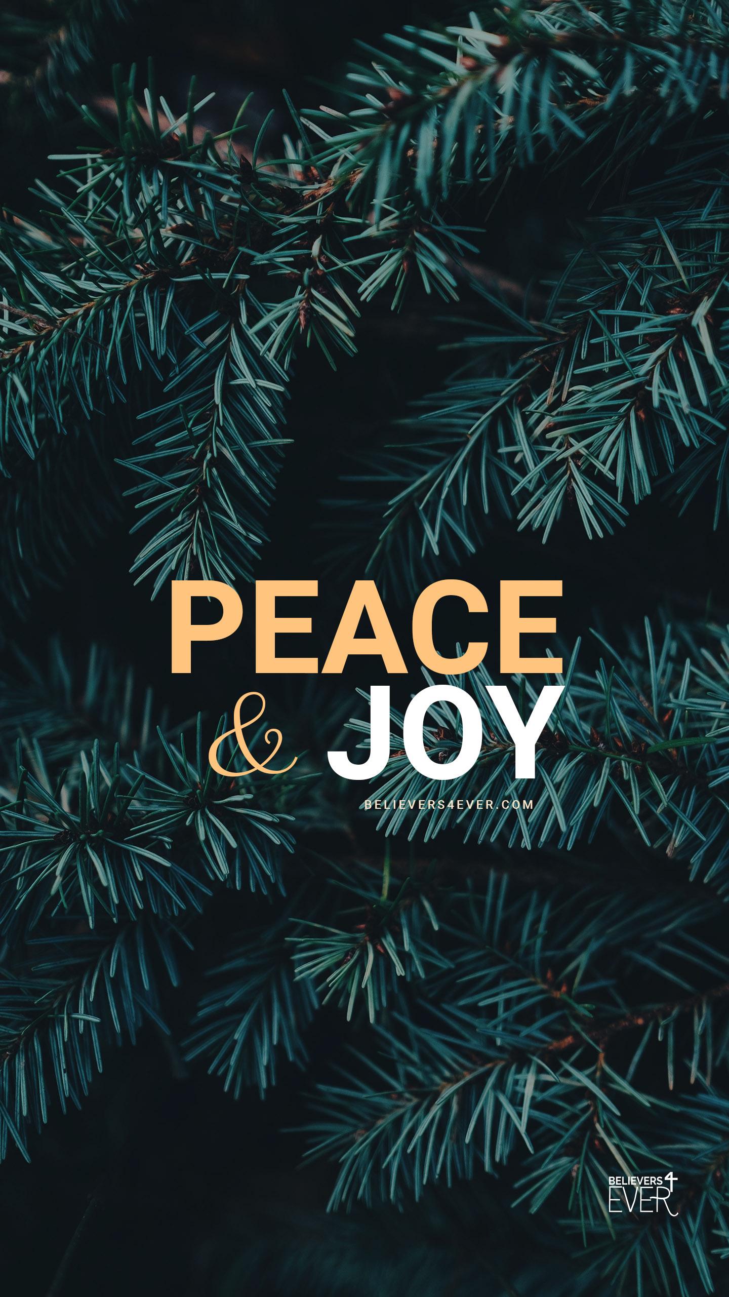 Peace & Joy mobile wallpaper