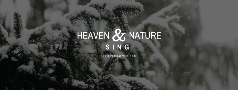 Heaven and nature sing. Joy to the world lyrics. Free Christmas Facebook Timeline cover and banners.