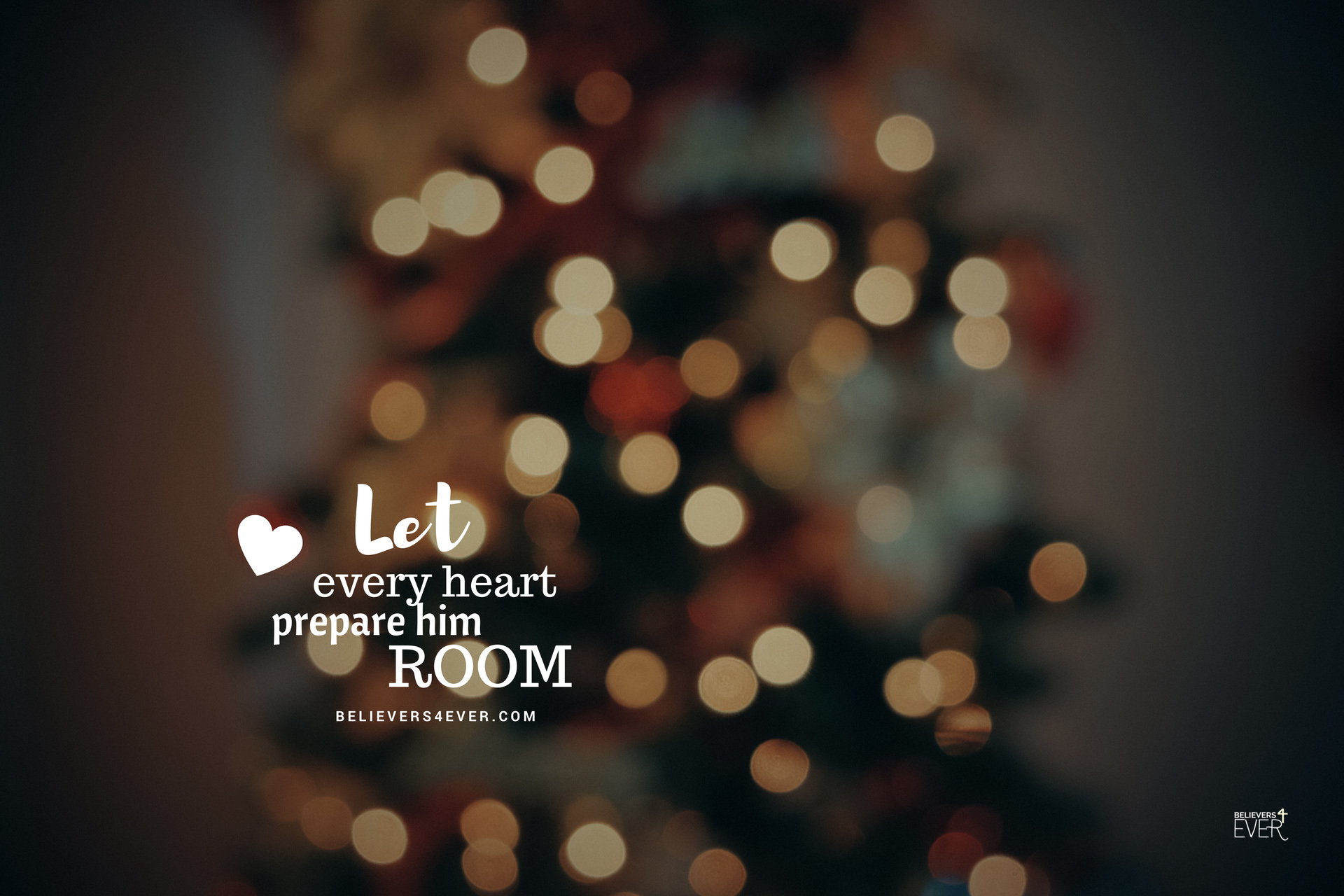 Let every heart prepare him room.