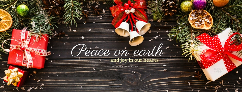 Peace on earth and joy in our hearts