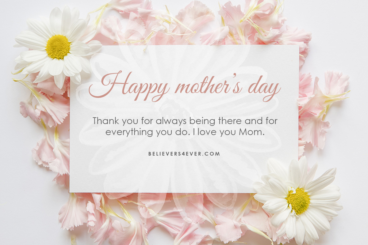 Happy Mothers Day Believers4ever